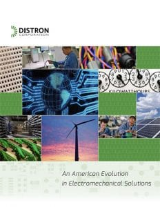 Cover of Distron Corp brochure